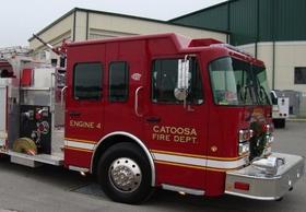 A Catoosa Fire Truck