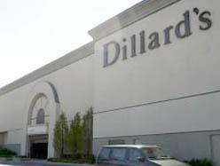 The Dillard's Store at Woodland Hills Mall in Tulsa.