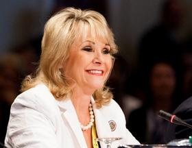 File photo of Governor Fallin at the National Governors' Association