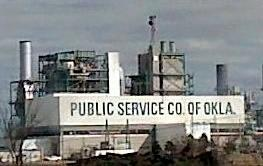 The PSO coal-fired plant at Oolagah