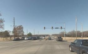 The intersection at 71st and Riverside Drive.