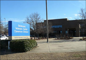 The Veterans facility is west of Rogers State University.