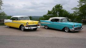 This is a picture of the classic cars stolen in Tulsa.