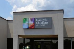 One of the Family and Children's Service outreach locations in Tulsa.