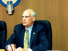 Fred Perry attends his last meeting as Tulsa County District 3 Commissioner