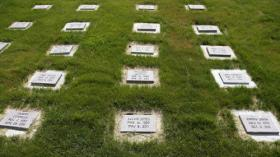 The prison grave yard at McAlester
