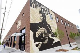Woody Guthrie Center in the Brady Arts District.