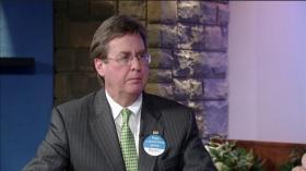 Mayor Bartlett on a recent RSU-TV program