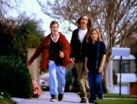 The Tulsa musical group Hanson from the 1997 MmmBop video