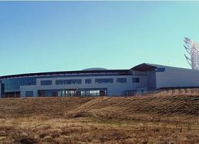 The American Indian Center is under construction south of I-40 in Oklahoma City