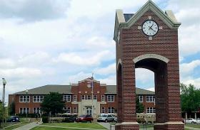 The Southwestern Oklahoma State University campus at Weatherford.