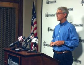 Bill Christiansen announces he won't support Dewey Bartlett for Mayor of Tulsa.