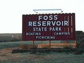 Entrance to Foss Lake