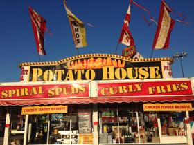 Health department sanitarians will inspect food vendors at the Tulsa State Fair an average of three times over the course of the event, including once before they can start serving customers.