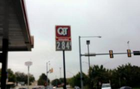 Prices jumped from 12-cents from $2.72 to $ 2.84 at this QT at mid morning.