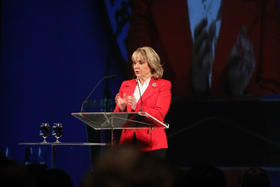 Governor Fallin speaks at Tulsa Energy Conference