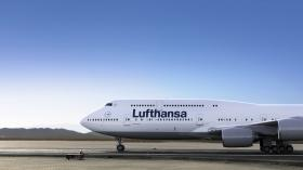 A Lufthansa 747