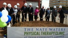 Ground is broken for TCC's new Physical Therapy Clinic