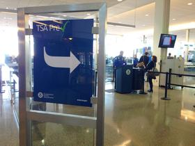 TSA's Precheck line at Tulsa International Airport is open to invited frequent fliers on American Airlines, Delta, United and US Airways.