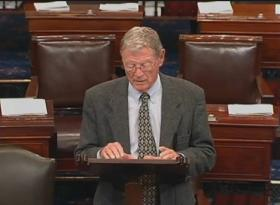 Senator Inhofe speaks on the Senate Floor.
