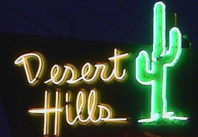 The Desert Hills Motel on 11th in East Tulsa.