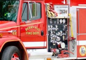 A Berryhill Fire Truck