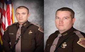 Troopers Chris Bunch and Ryan Smith