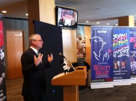 Broadway schedule is announced in Tulsa news conference