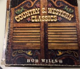 A Bob Wills vinyl recording.