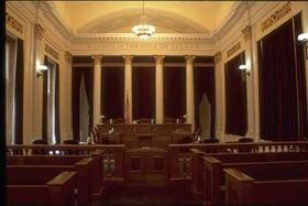 10th Circuit courtroom in Denver