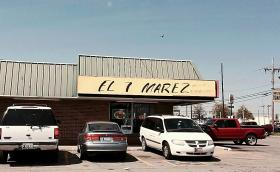 El 7 Marez is located south of the 21st and Garnett intersection.