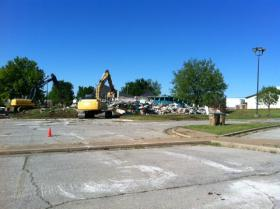 B.C. Franklin Rec Center is demolished.