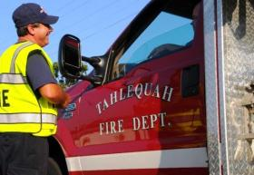 Tahlequah fire fighters