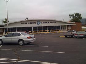 Tulsa County Election Board on North Denver Avenue