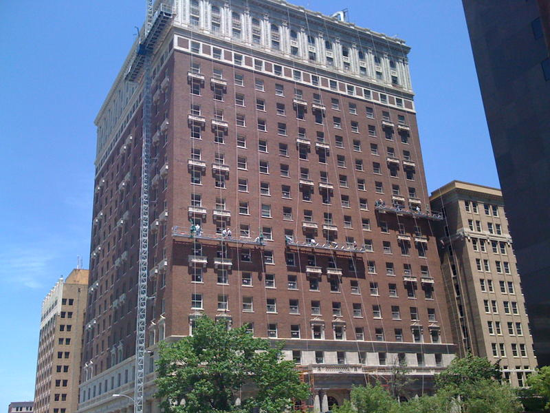 The historic Mayo Hotel at 115 W. Fifth in downtown Tulsa
