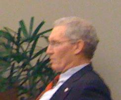Tulsa City Councilor Bill Martinson at a recent City Council Meeting