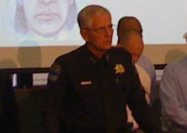 Tulsa Police Chief Ron Palmer at a recent news conference