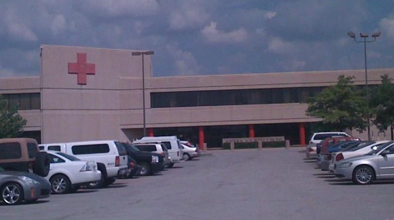 Red Cross Headquarters in Tulsa at 11th and Highway 169.