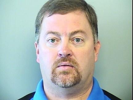 Kevin Rowland's booking photo at Tulsa Jail