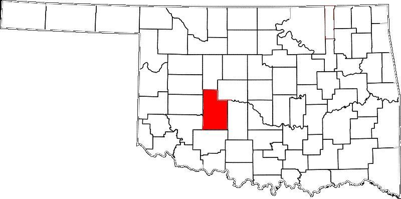 Anadarko is in Caddo County.