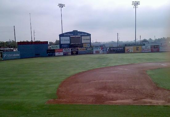 The old Driller Stadium is now empty.