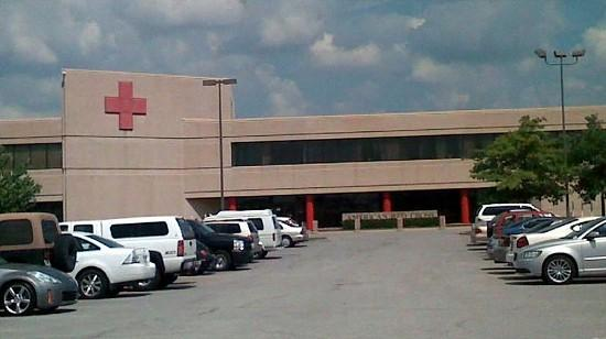 Tulsa's Red Cross headquarters in at 11th and Highway 169/