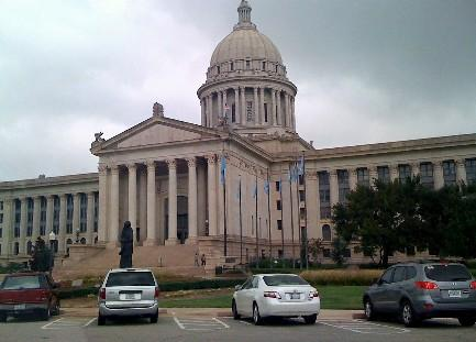 The Oklahoma State Capitol.