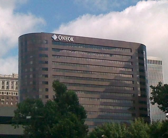 ONEOK, the parent company of ONG, is located in downtown Tulsa.