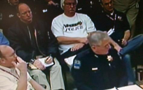 Fire Chief Allen LaCroix and Police Chief Ron Palmer answer questions from Tulsa City Council Members.