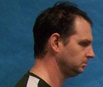 The booking photo of Sean Sutton at the Payne County Jail