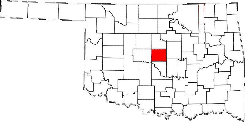 Jones is located in Oklahoma County