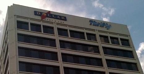Dollar-Thrifty headquarters on 31st Street in Tulsa.
