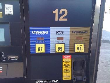 A Tulsa gas pump