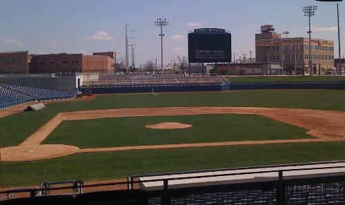 The new ONEOK Field in downtown Tulsa.